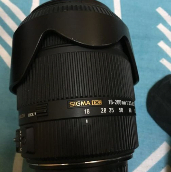 Used Sigma 18-200mm Lens For Canon Sale in Dubai, UAE