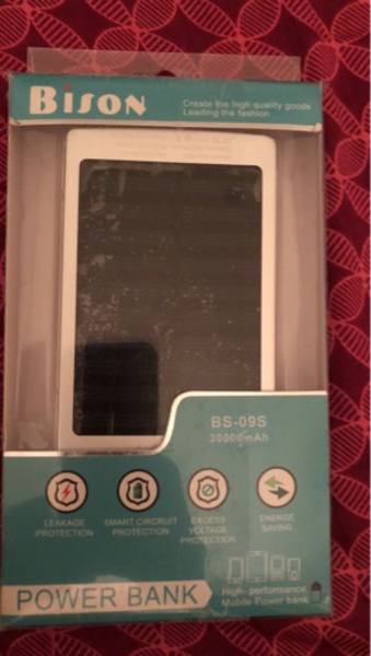 Used Power Bank 39000 mAh. Charges with Solar in Dubai, UAE
