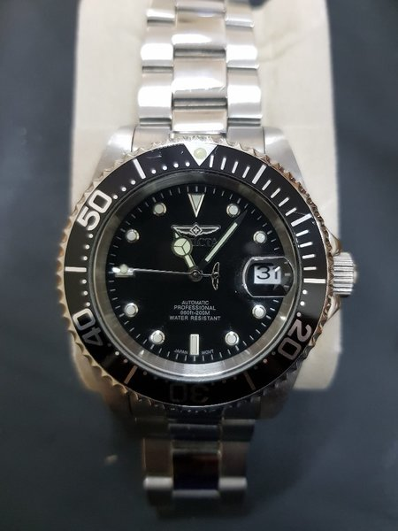 Used INVICTA pro diver watch Automatic in Dubai, UAE