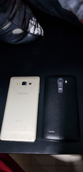 Used SAMSUNG A7 and LG G4 for parts in Dubai, UAE