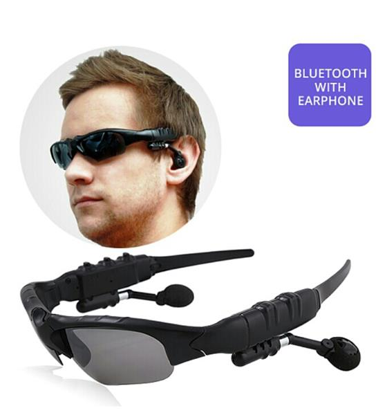Used Bluetooth Whit Sunglasses Brand New in Dubai, UAE
