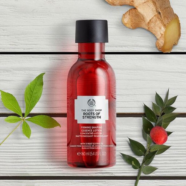 Used The body shop firms lotion  in Dubai, UAE