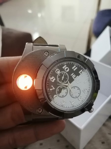 Used Quality watch built in cigarette lighter in Dubai, UAE