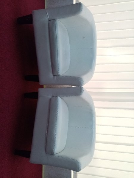 Used 2 White Ikea Sofa Chair in Dubai, UAE
