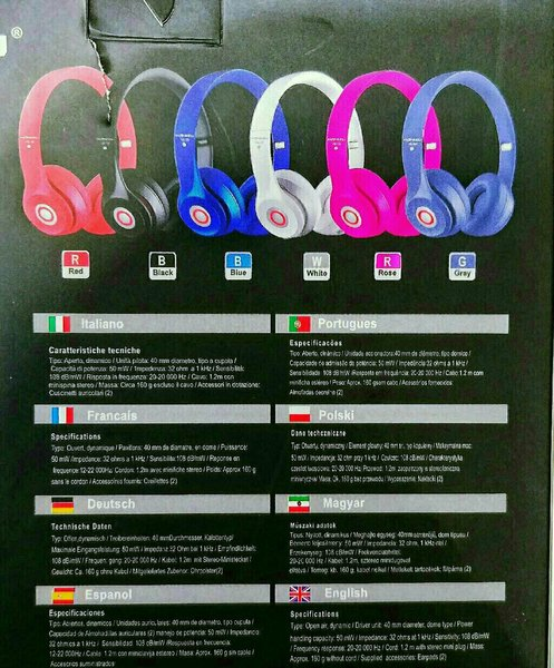 Used Original Hanizu Headphone On Ear New Mix in Dubai, UAE