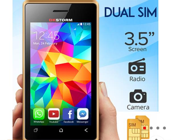 Used Dk Storm Mobile Brand New in Dubai, UAE