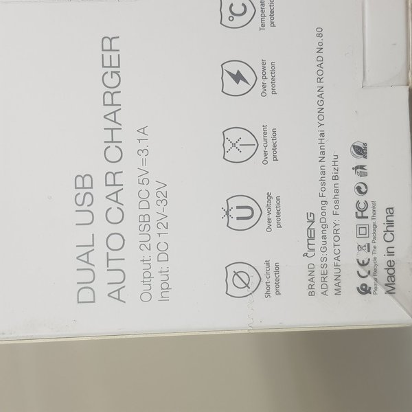 Used Mobile Durable Charger 3.1A off PRICE in Dubai, UAE