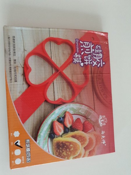 Used 6 pcsSilicone pancake mould -heart shape in Dubai, UAE