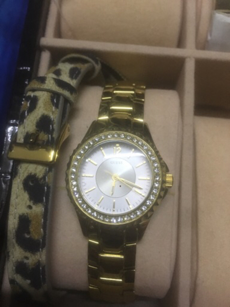 Used Guesswatch with two bracelet in Dubai, UAE