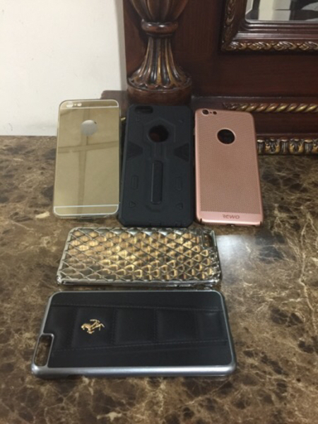 Used Covers for iPhone 6 Plus preloved  in Dubai, UAE