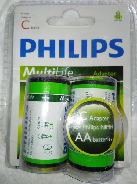 Used Philips AA batteries in Dubai, UAE