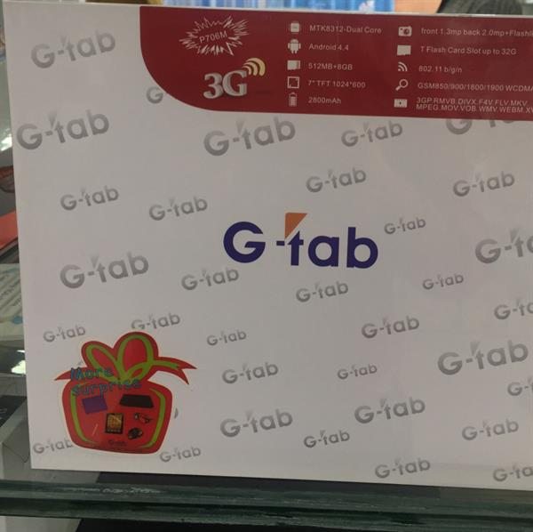 G-tab Androide Tablet
