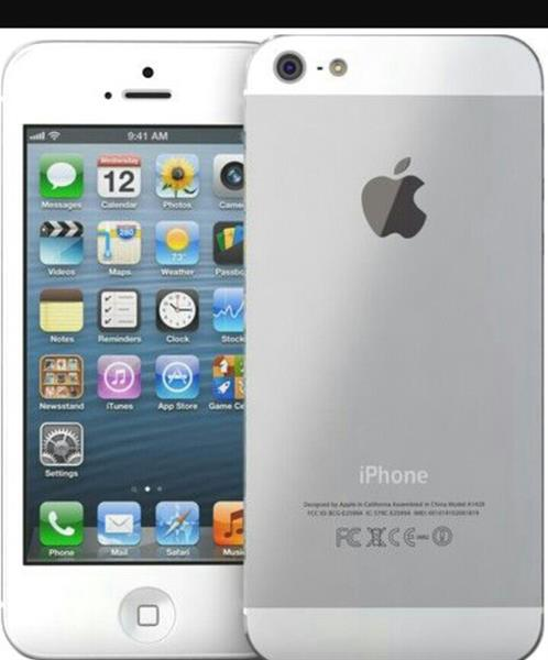 Used Used I Phone 5 Silver 16 in Dubai, UAE