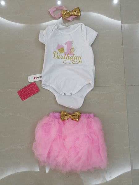 Used New set skirt for girls 3-6 months in Dubai, UAE