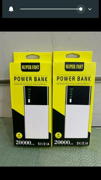 Used 2 pieces super fast powerbank in Dubai, UAE