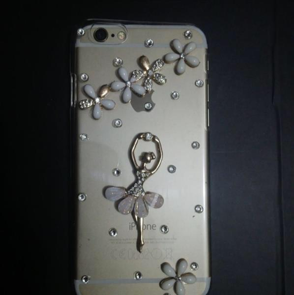 Used Iphone6 Fancy Cover With Stone. in Dubai, UAE
