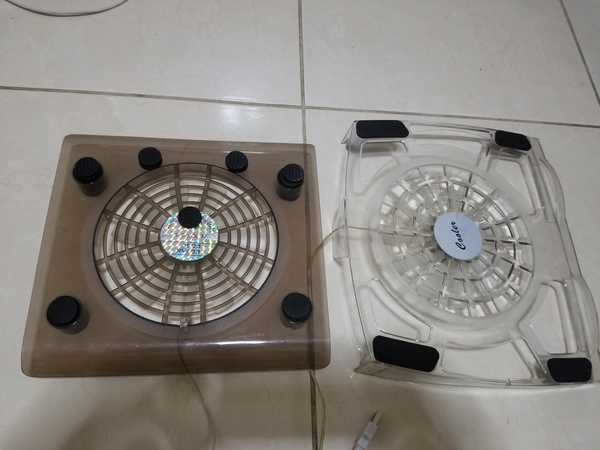 Used Laptop cooler fan for cheapest price in Dubai, UAE