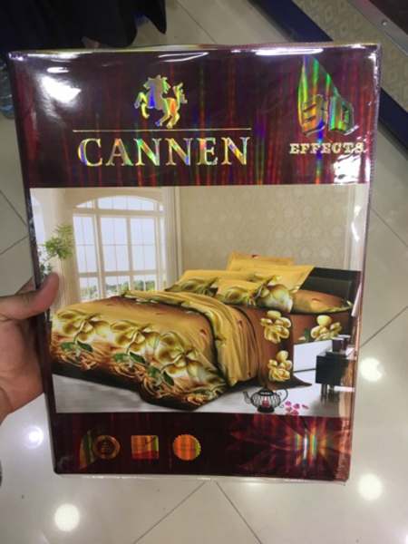 Used 4 Pieces bedsheets with pillow cower  in Dubai, UAE