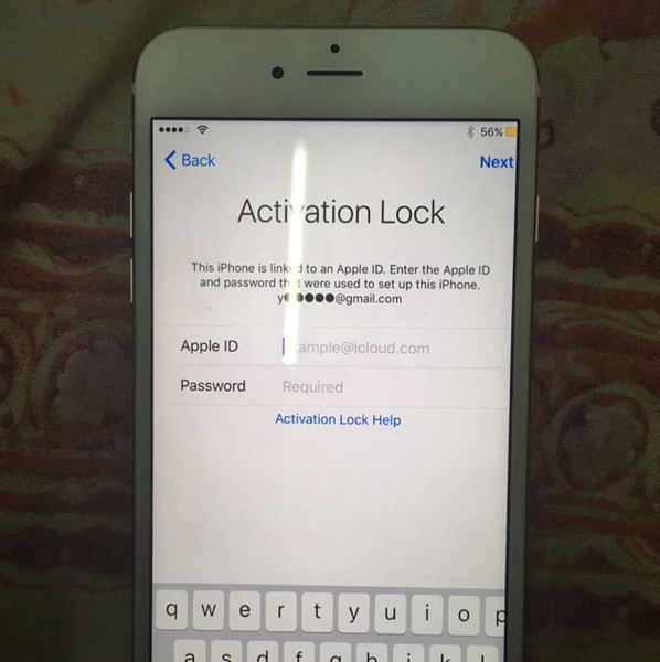 Used iPhone 6 Plus 128 Gb In Perfect Condition , But It Need To Open I Cloud Lock  in Dubai, UAE