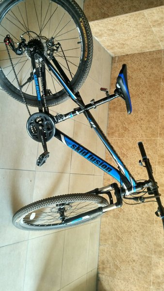 Used Skid fusion bicycle..brand new 3 months. in Dubai, UAE