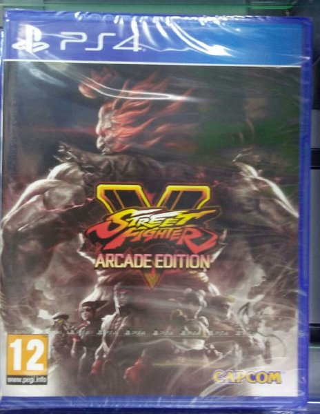 Used Ps4 game - STREET FIGHTER in Dubai, UAE