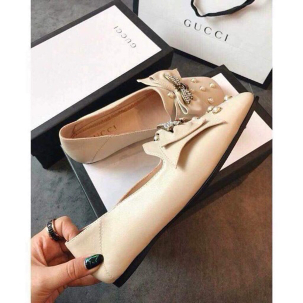 Used Gucci Ballet Flat with Bow in Dubai, UAE