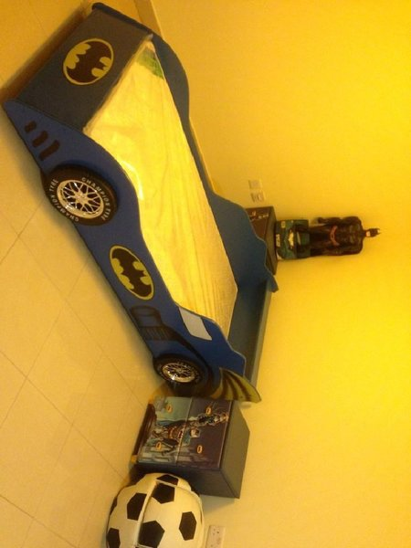Used BATMAN Bed w/Medical Mattress & drawers in Dubai, UAE