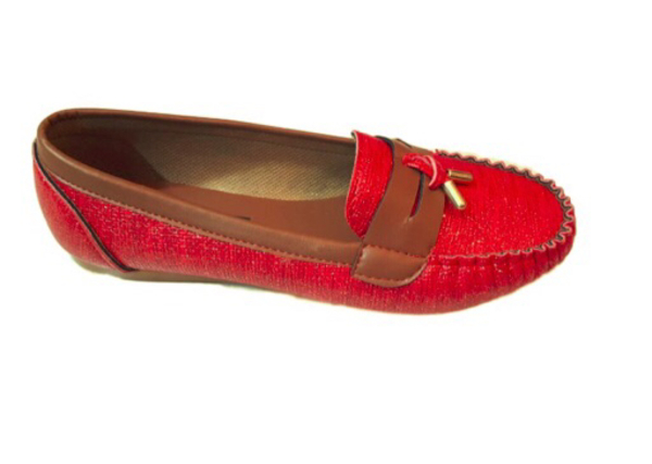Used new red shoes in Dubai, UAE