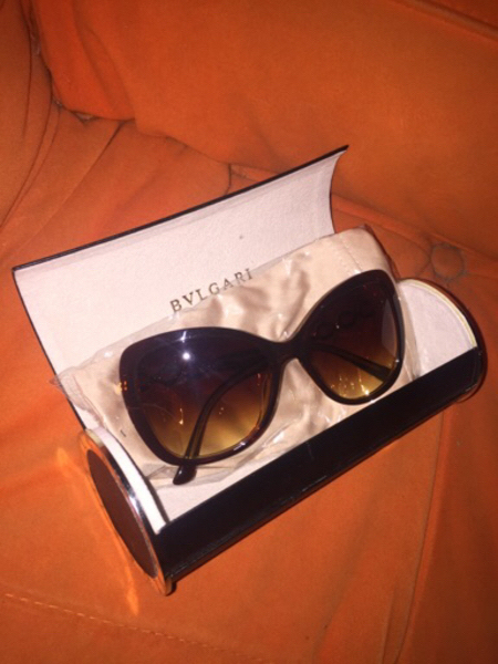 Used Original Bvlgari women sunglasses  in Dubai, UAE