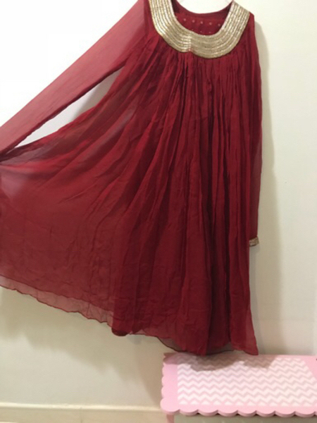 Used Beautiful Embriodered designer dress. in Dubai, UAE