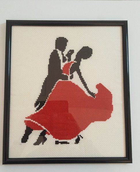 Used Tango dance portrait in Dubai, UAE