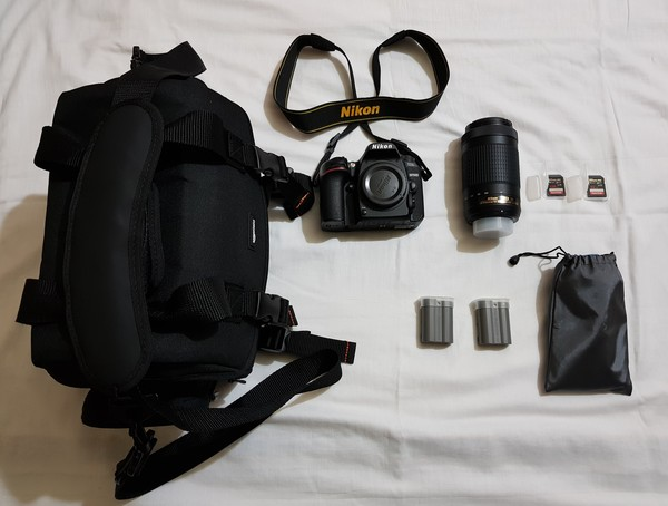 Used Nikon D7500+2 Lens+Tripod & Accessories in Dubai, UAE