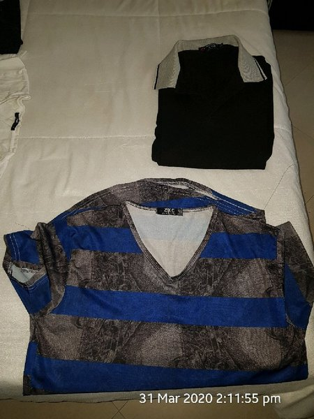 Used Polo shirt and tshirt #out donation used in Dubai, UAE