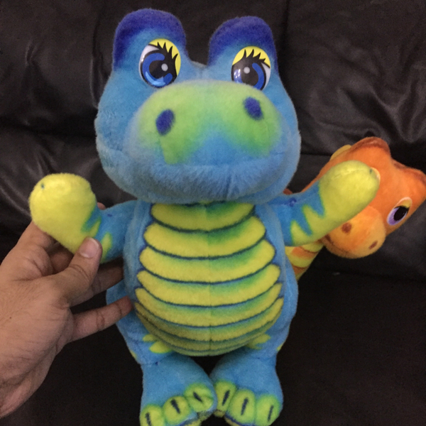 Used Used Soft Toys - Two dinosaurs From Juniors. in Dubai, UAE