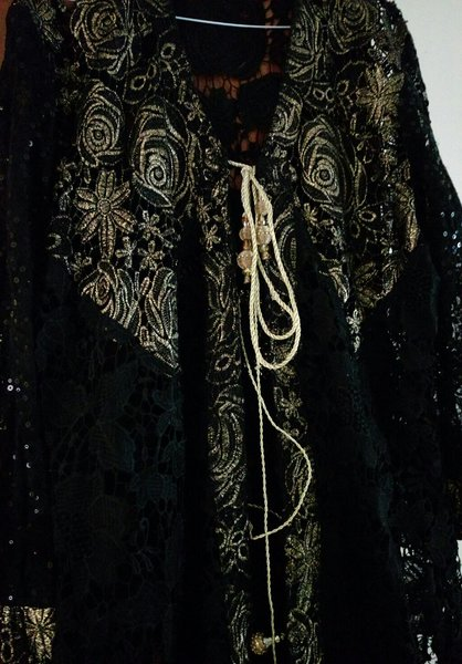 Used Beautiful Net long gown in Dubai, UAE