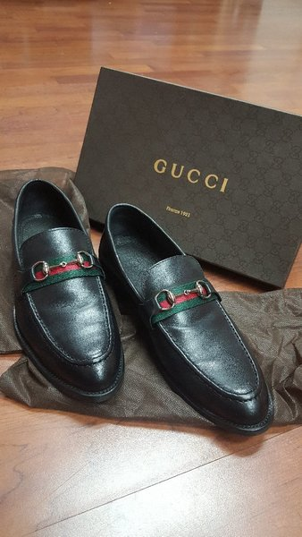 Used Gucci Leather Shoes Size 43 in Dubai, UAE