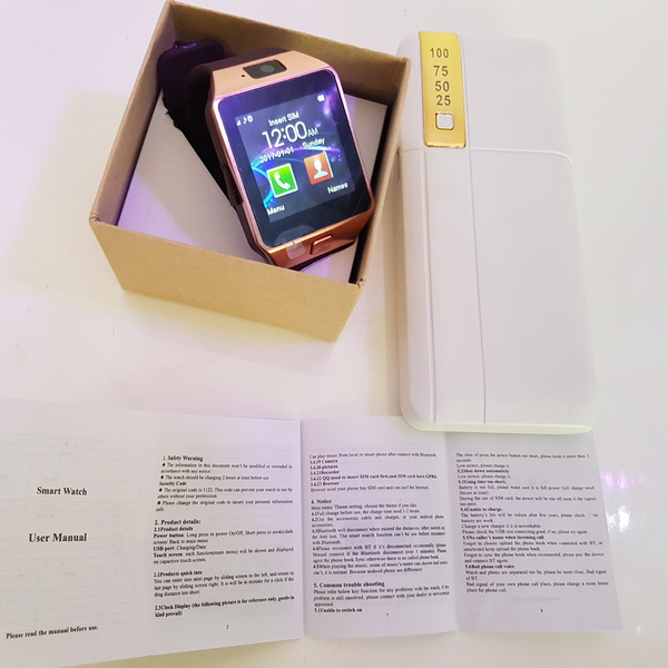 Used New smart watch and 50000mah power bank in Dubai, UAE