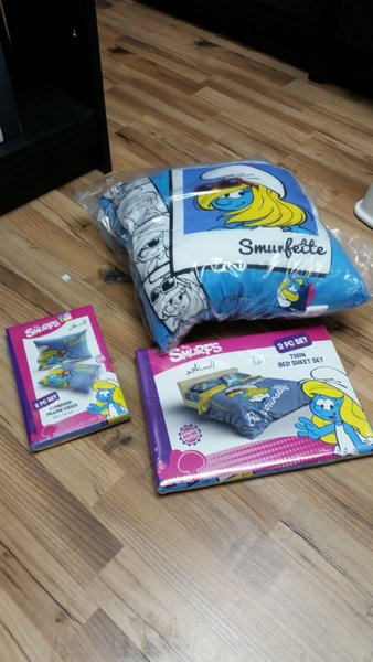 Used smurf set of 3🎁HOTDEAL🎁 in Dubai, UAE