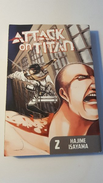 Used Attack On Titan Manga Volumes 1, 2 & 3 in Dubai, UAE
