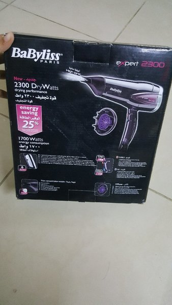 Used Babyliss brand new hair dryer high ionic in Dubai, UAE