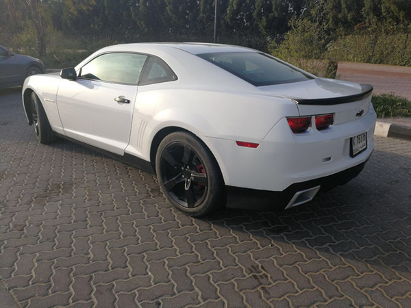 Used Chevy CAMARO 2012 , very clean , accedent free Al Ghandi service history, only done 60,000 KM , first owner,URGENT SELL!!!! Contact # 050 8450822 in Dubai, UAE