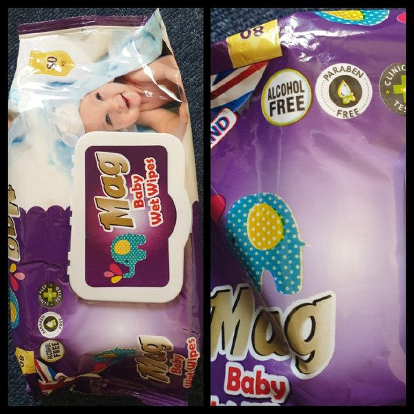 Used Mag baby wet Wipes 80 pcs 5 dhs only in Dubai, UAE