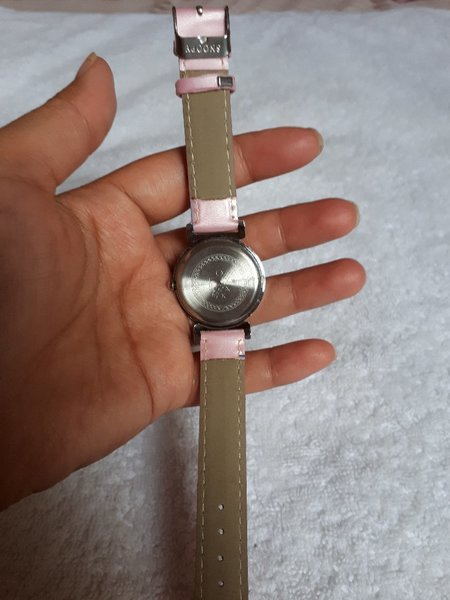 Used Pink snoopy watch with micky mouse. in Dubai, UAE