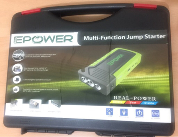 Used Epower multi-functional car jump starter in Dubai, UAE