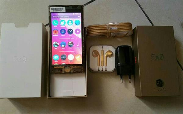 Used LG FX0 Smartphone New, 16GB, 4G LTE, Firefox OS - GOLD - Transparent. Made in Japan in Dubai, UAE