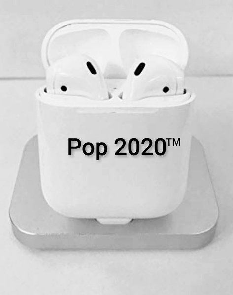Used POP2020 German Airpods White Edition in Dubai, UAE