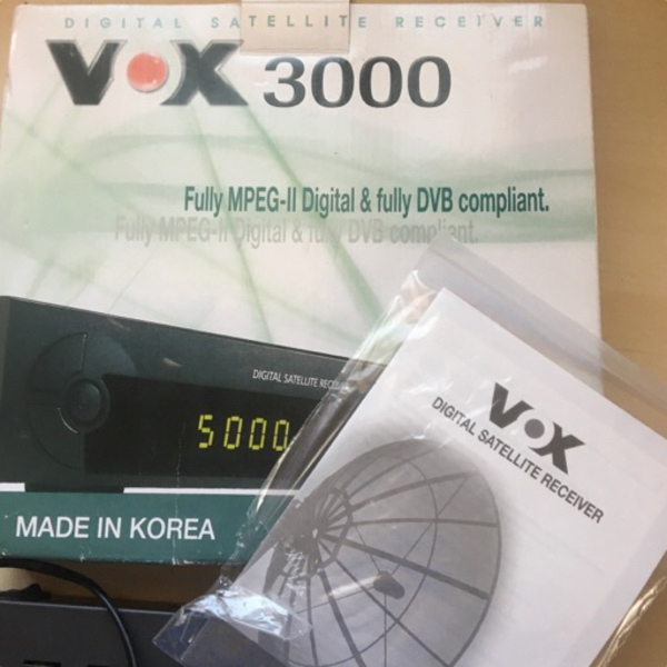 Used Vox 3000 Digital Satellite Receiver  in Dubai, UAE