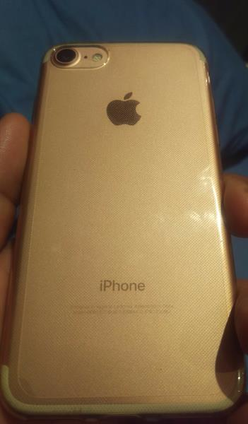 Used I Phone 7 Rose Gold With. Original Apple Batter Case  in Dubai, UAE