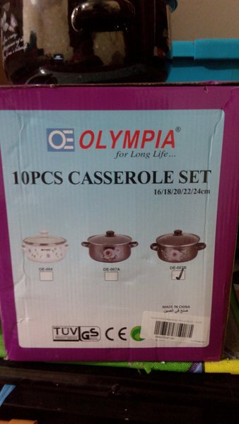 Used 10pcs Casserole with Lid in Dubai, UAE