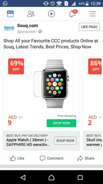 Used Watch temporary glass 42 mm apple in Dubai, UAE